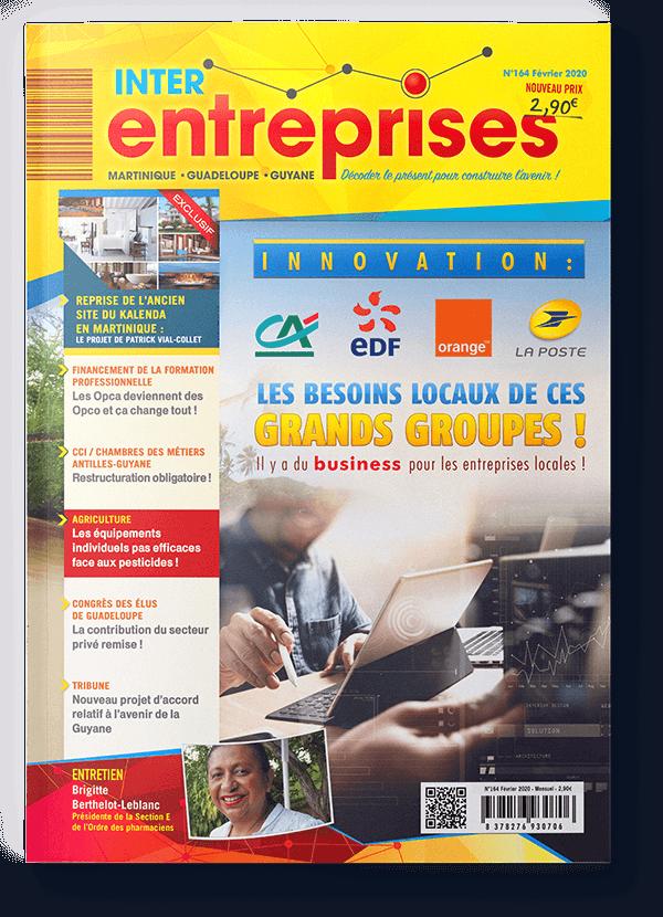 Magazine Interentreprises Février 2020 - N°164